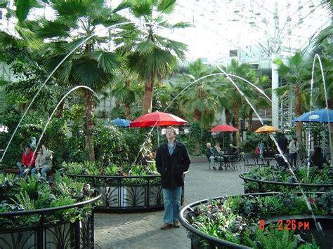 Navy Pier Botanical Garden The Navy Pier Indoor Gardens Fountains Picture Of Chicago Lake County Tripadvisor