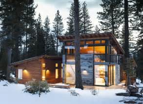 Modern Cabin Plans Small Modern Mountain Home Plans