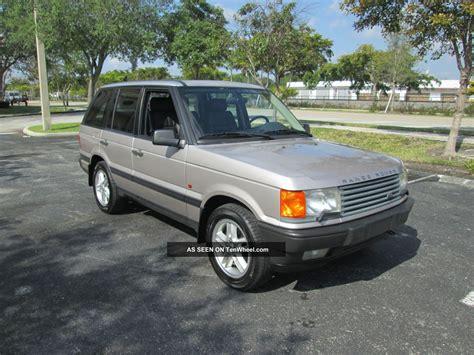 1999 range rover 4 6 hse sport utility 4x4 fl truck