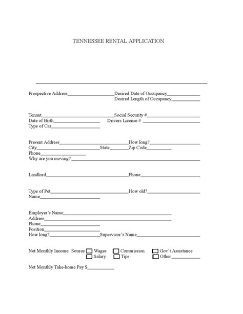 printable lease agreement tennessee uk tenancy agreement template free landlord and letting