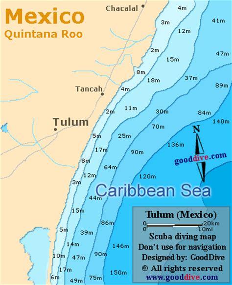 tulum mexico map tulum map gooddive