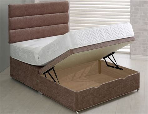 Half Bed Half by Franca Upholstered Ottoman Half Lift Bed