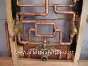 Moen Bath And Shower Faucets how to kohler custom shower system setup pressure loop