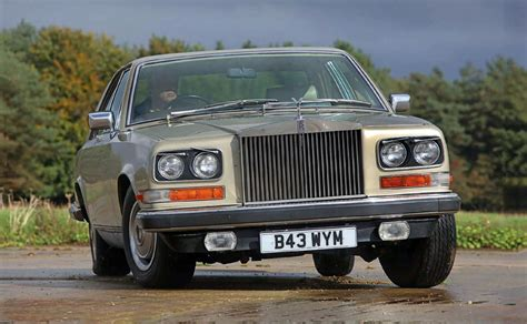 rolls royce camargue road test drive