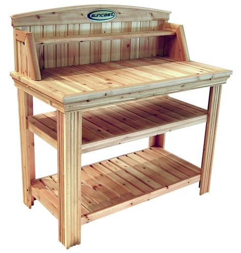 cedar potting bench cedar potting bench in potting tables