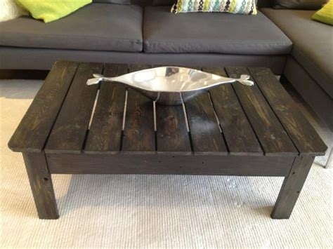 diy pallet coffee table for living room wooden pallet
