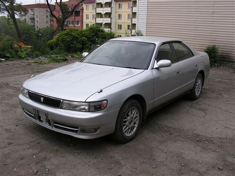 Toyota Chasser 1995 Toyota Chaser Pictures 2446cc Diesel Fr Or Rr