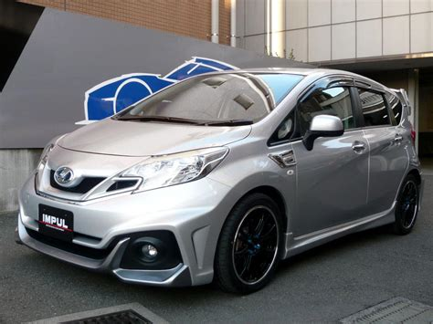 nissan tuner cars impul nissan note tuning kit car tuning