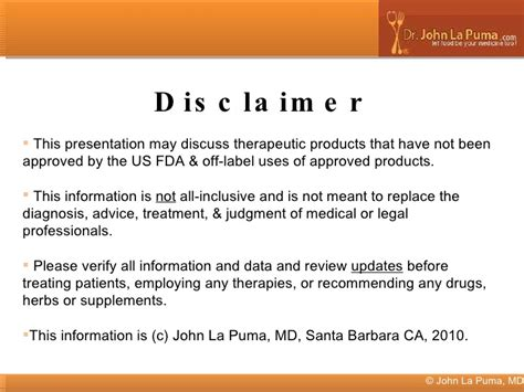 supplement disclaimer weight loss drugs and dietary supplements labeling