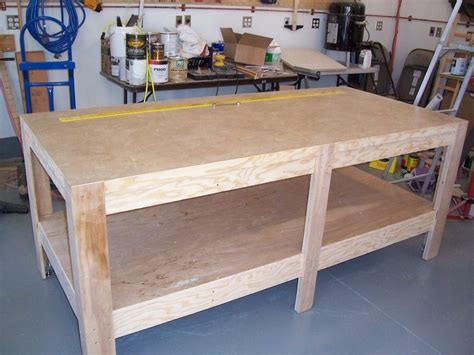 assembly bench assembly table for shop by daveh lumberjocks com