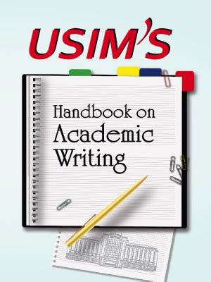 libro academic writing a handbook usim s handbook on academic writing penerbit usim penerbit usim 978 983 4100 78 7 e