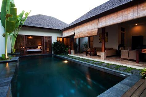 Exotic Bedrooms private villas in sanur with ellora bali villas