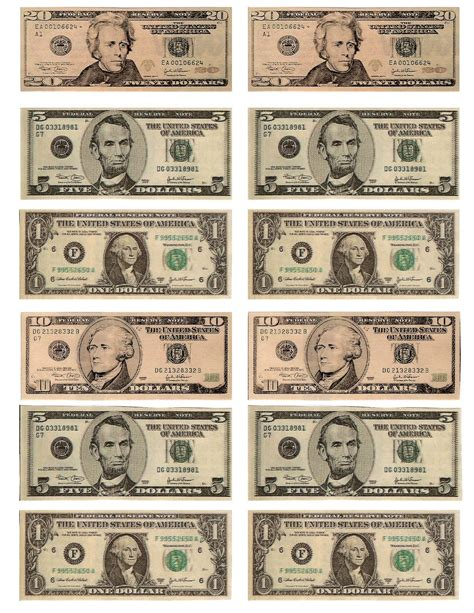 printable mini fake money free printable fun for everyone free printable play money
