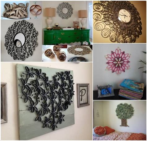 30 wall decorations made from toilet paper roll