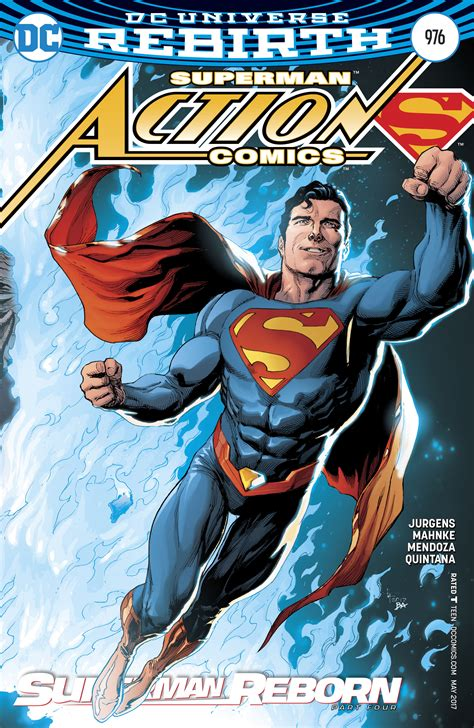 Superman Rebirth Dc Comic dc comics rebirth superman reborn part 4 finale spoilers review comics 976 reboots