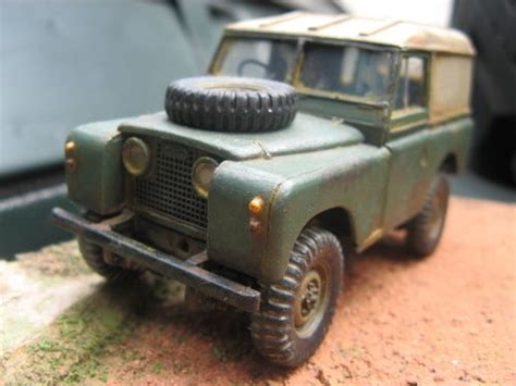 land rover tamiya landrover series ii custom modified kit tamiya 1 35