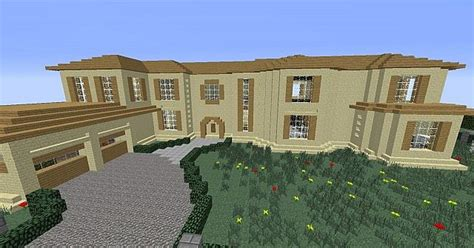 real life home design games modern mansion realistic home minecraft project