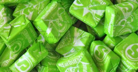 green apple starburst  temptation candy  candy