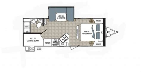 dutchmen travel trailers floor plans dutchmen kodiak travel trailer floorplans united rv