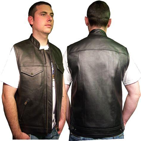 Tornado Leather Waistcoat