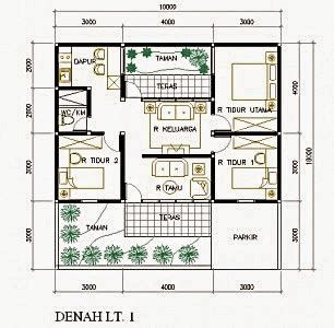 Warning 9 11 Ukuran 3 X 300m 50 contoh gambar denah rumah minimalis terbaru 2017