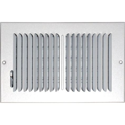 Ceiling Registers And Grilles by Speedi Grille 6 In X 10 In Floor Vent Register White