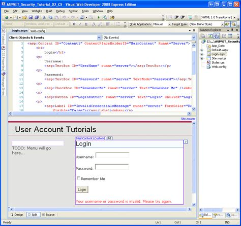 design label in asp net an overview of forms authentication c the asp net site
