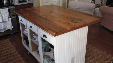 kitchen island with wood top reclaimed oak table counter top height reclaimed wood