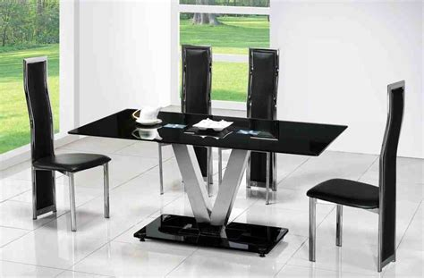 Contemporary Black Dining Chairs Contemporary Black Dining Chairs Home Furniture Design