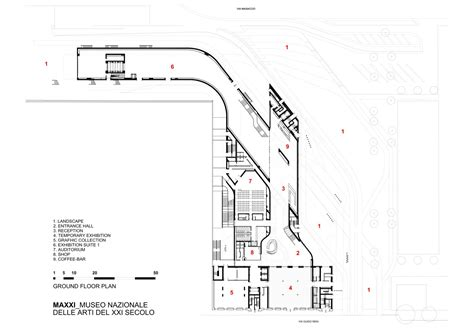 zaha hadid floor plans maxxi museum by zaha hadid architects karmatrendz