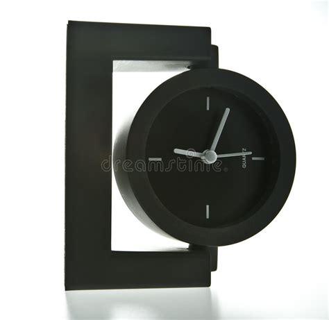 horloge sur le bureau horloge moderne de bureau de type photo stock image 6081530