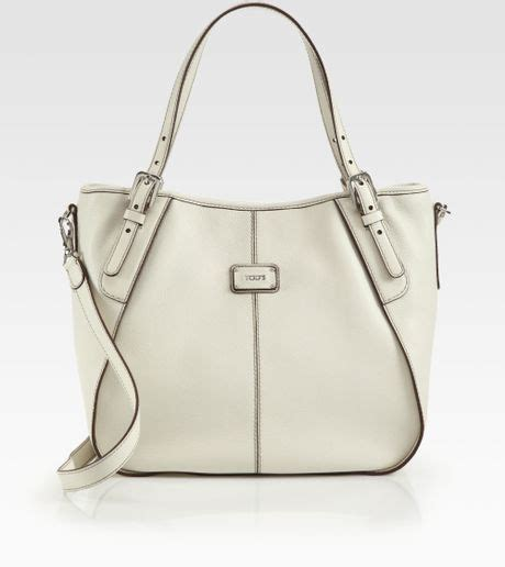 Tods New Bensonville Piccola by Tod S New G Sacca Piccola Tote In Beige Ivory Lyst