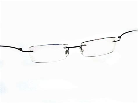 bendable titanium eyeglasses glass