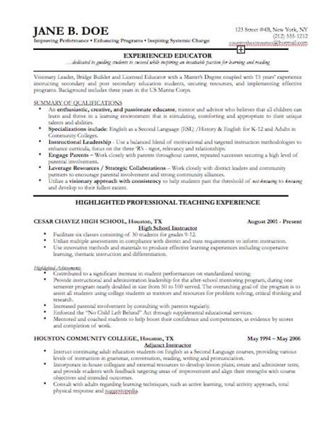 template for professional resume professional resume templates cv template resume exles
