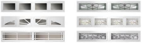 garage doors get started with flush raised panel window
