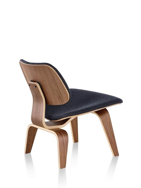 Eames Molded Plywood Lounge Chair by Eames Molded Plywood Lounge Chair With Wood Base