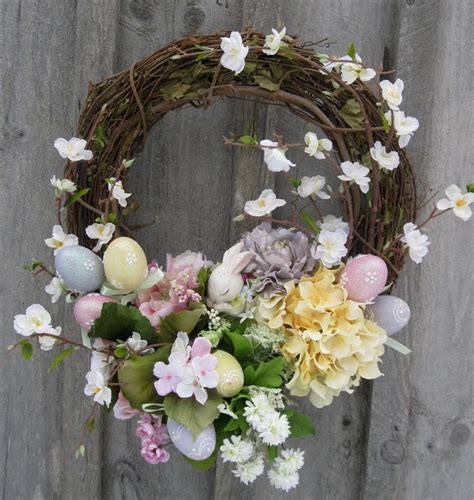 spring wreaths easter wreath spring decor garden wreath country