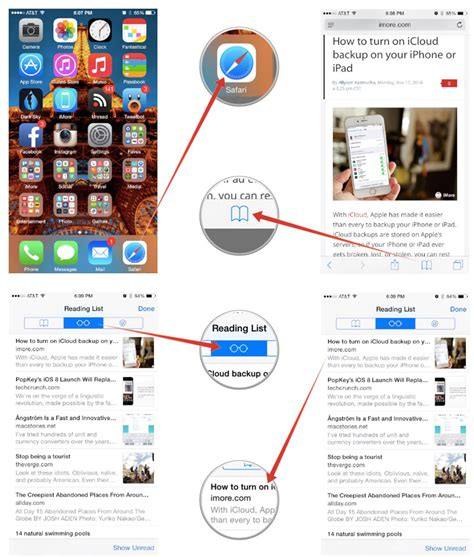Iphone List How To Set Up And Use Reading Lists In Safari For Iphone And Imore