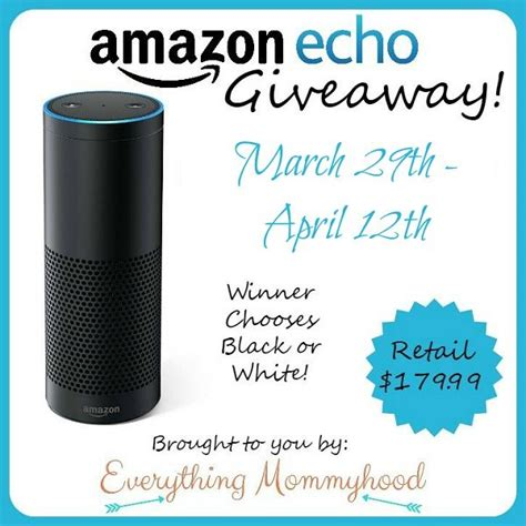 Amazon Echo Giveaway - 200 target gift card giveaway shopping spree ends 4 21