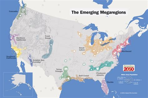 future us map future map of america