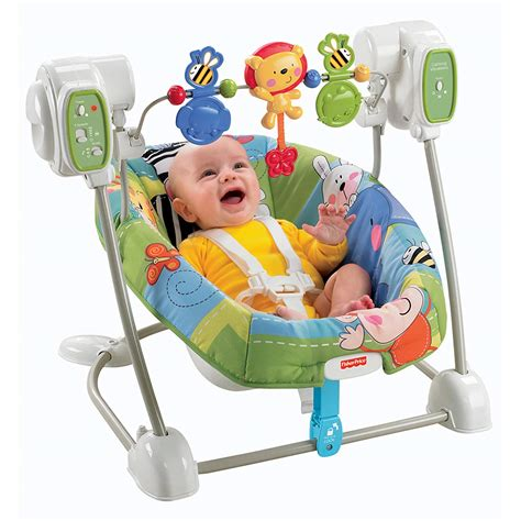 fisher price vibrating chair fisher price discover and n grow jungle baby swing vibrating seat chair nib new
