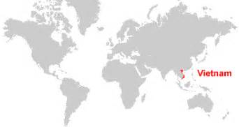 Vietnam On World Map by Vietnam Map And Satellite Image