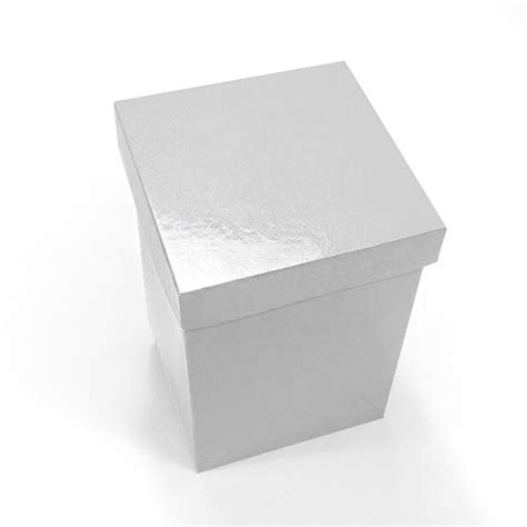 Paper Boxes With Lids - white premium gift boxes