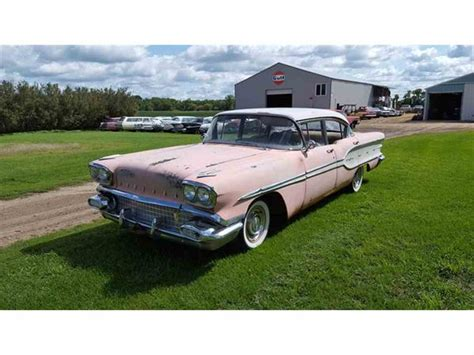 1958 Pontiac For Sale by 1958 Pontiac Chieftain For Sale Classiccars Cc 1014555