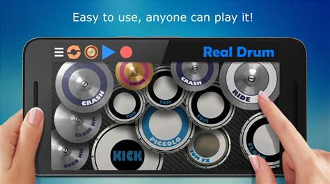 best drum tutorial app real drum the best drum pads simulator android apps on