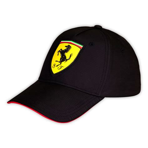 gorra scuderia ferrari carbono negra gorras