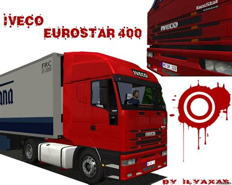 download mod for euro truck simulator game modding iveco eurostar 400 simulator games mods download