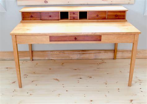 Shaker Writing Desk Plans by Custom Schoolmaster S Desk Traditional Shaker Inspired Design Finewoodworking