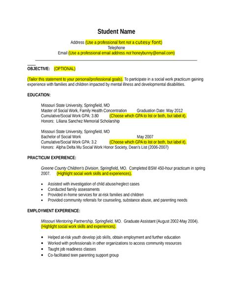Volunteer Resume by College Community Volunteer Resume Template
