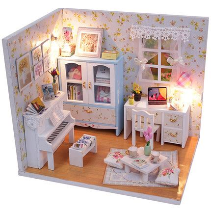 buy doll house aliexpress com buy 2015 new arrive doll house miniatura 3d wooden diy dollhouse miniature